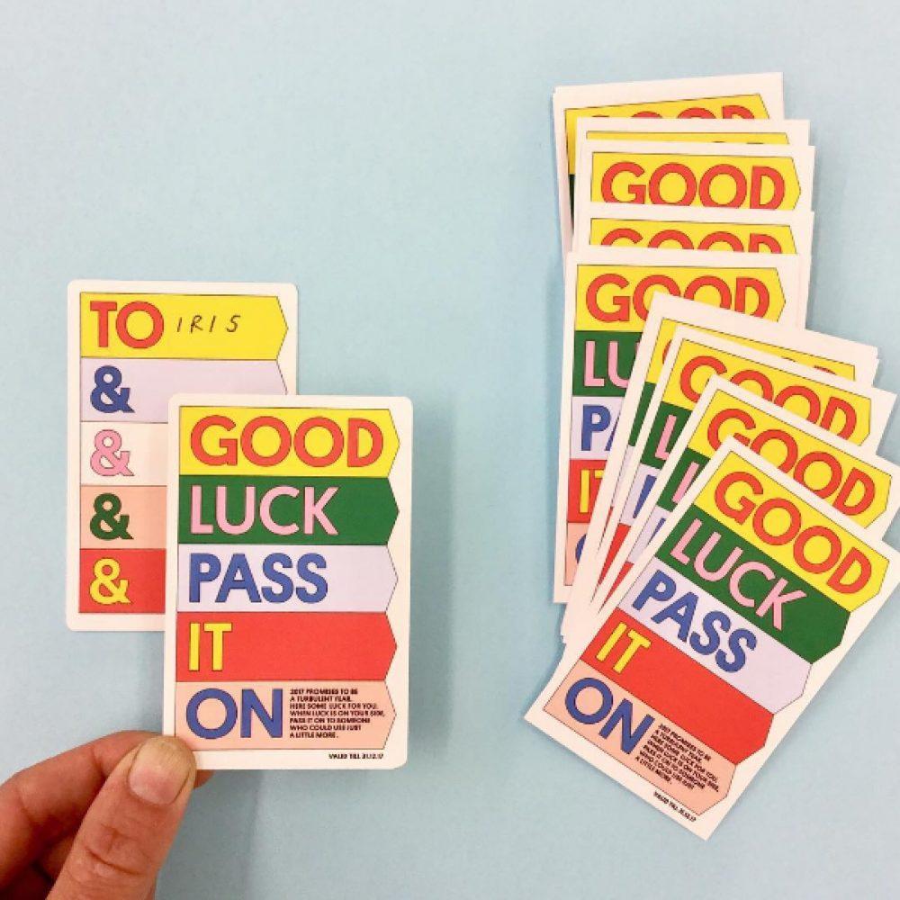 GOOD LUCK PASS