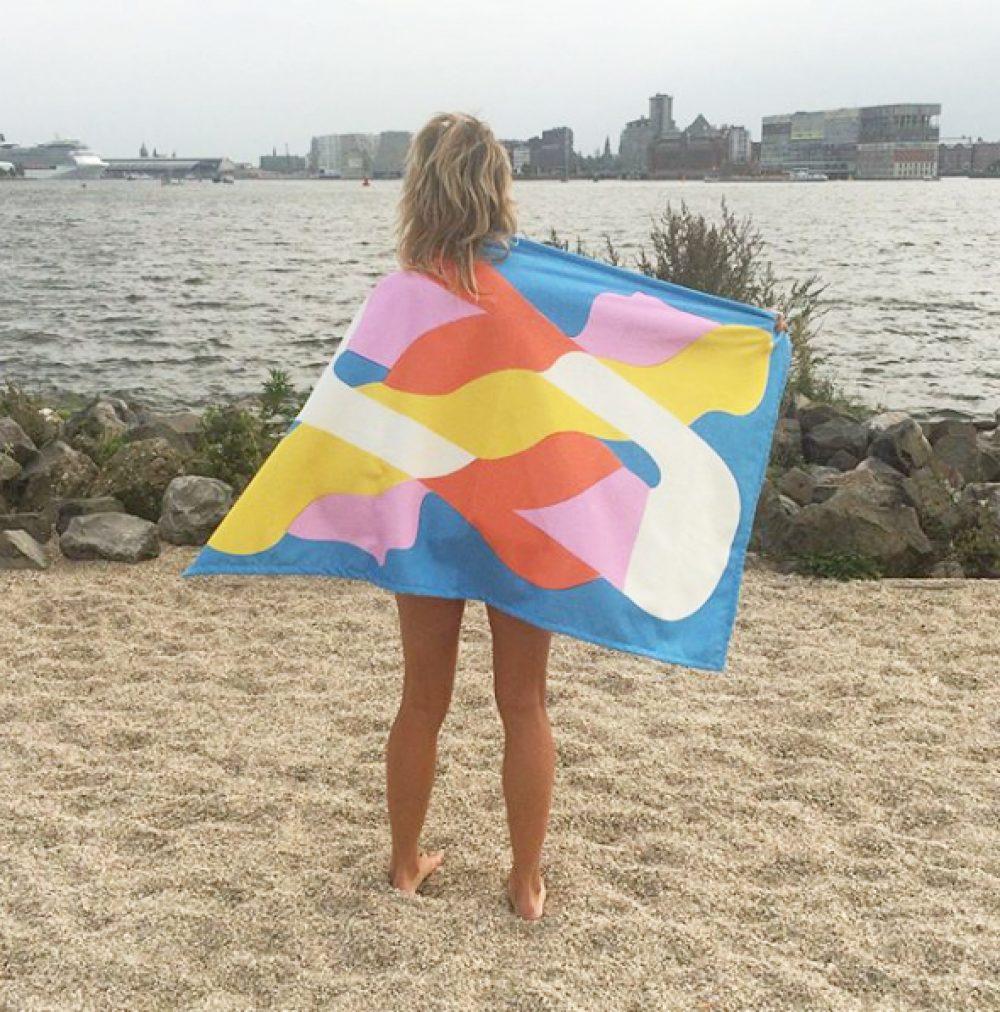 TWIN MERMAIDS BEACH TOWEL
